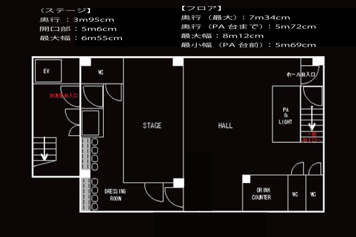 上野音横丁フロアマップ
